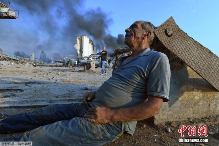 黎巴嫩爆炸死亡人数恐增加 总统称7月已知化学品存在