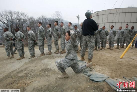 忧韩国新冠疫情蔓延 驻韩美军上调防疫响应级别