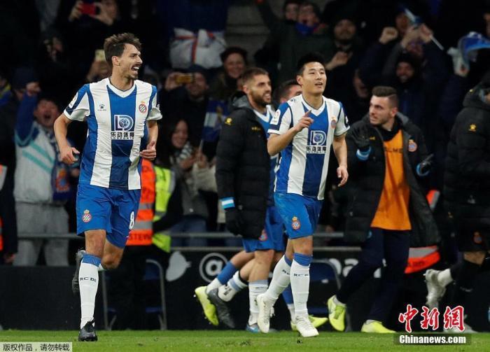 武磊与西班牙人续约至2024年 目标率队重返西甲