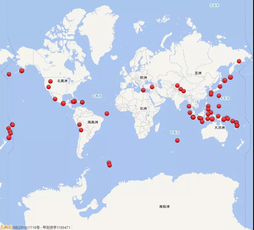 今年前8个月中国发生三级以上地震428次