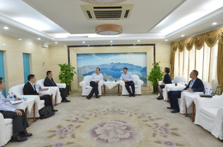 吉林银保监局局长刘峰会见广发银行党委委员、纪委书记陈向荣一行
