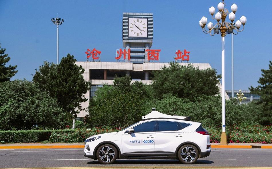 百度Apollo Go自动驾驶出租车北京开放测试