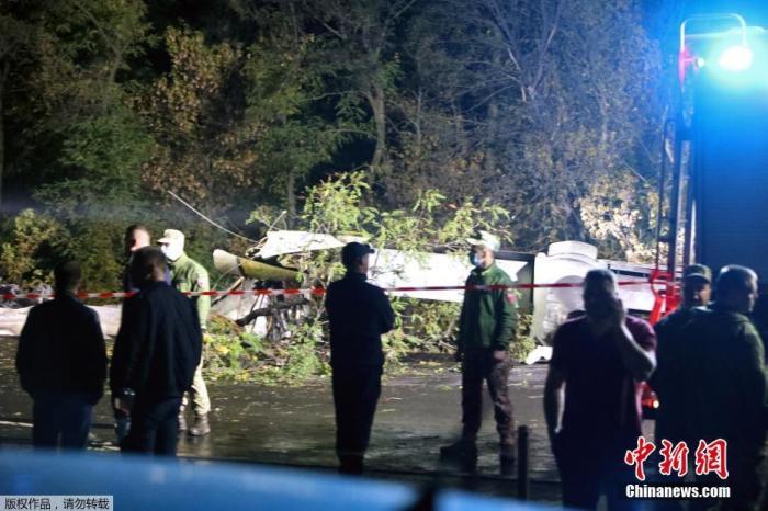 乌克兰坠机事故致26死 救援人员找到全部遇难者遗体