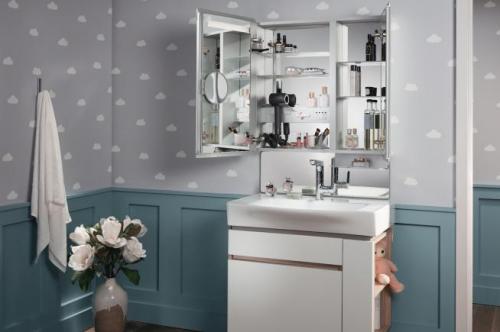 科勒卫浴亲悦镜柜 给你干净整洁又有格调的空间