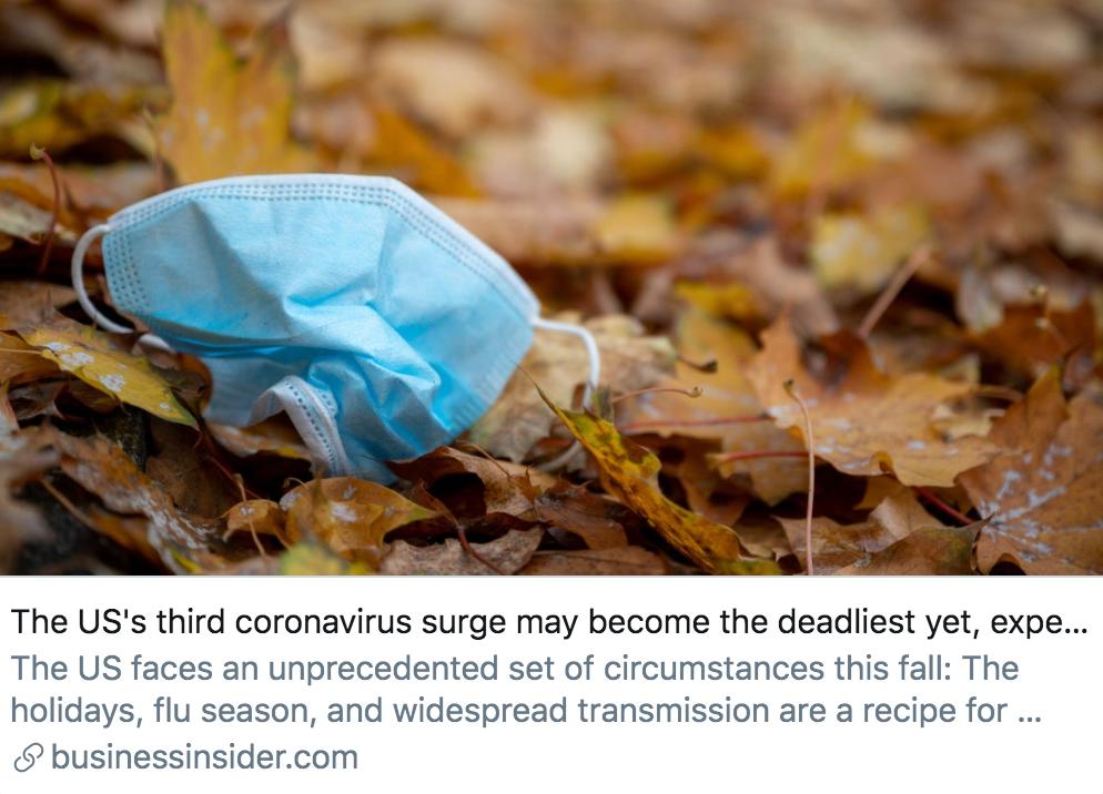 单日新增确诊超9.2万例突破纪录,五大数字读懂美国疫情