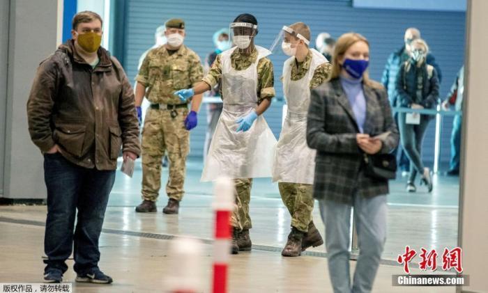强生子公司新冠疫苗在英国开启三期试验 6000人将注射