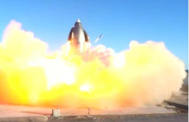 "SpaceX""星舟""原型机测试中爆炸 马斯克:任务成功"