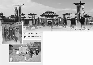 """接待剧组数量创新高 横店影视城""""淡季不淡"""""""
