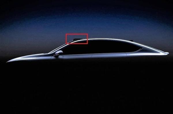 电银付app使用教程(www.dianyinzhifu.com):对标宝马7系?蔚来轿车车顶细节曝光:或搭载激光雷达手艺 第1张