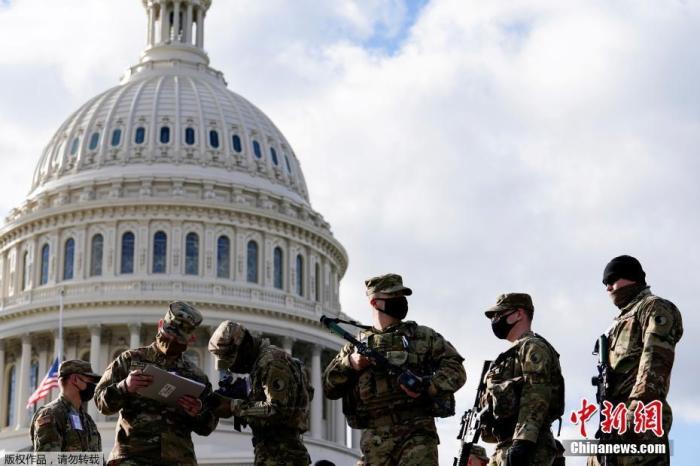 5000名美国民警卫队士兵将留守华盛顿 直至3月中旬