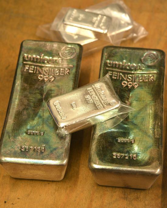 黄金期货录得6连跌 白银期货创3周新高