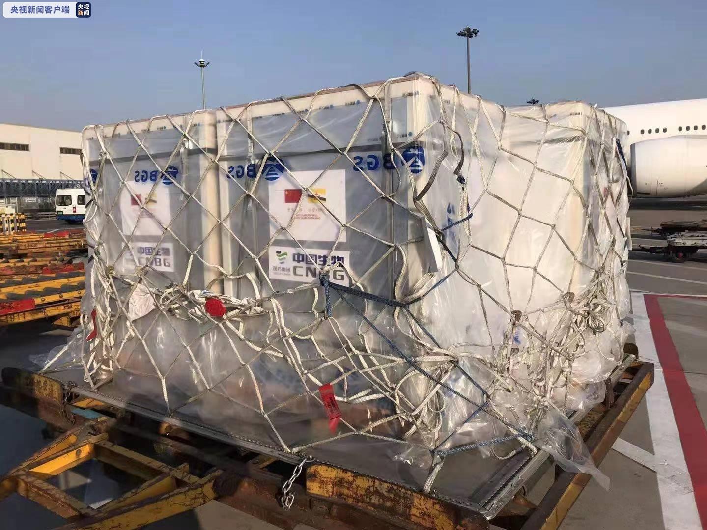 中国援助的新冠疫苗运抵文莱 文政府表示感谢