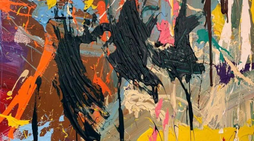 韩国年轻夫妇误毁50万美元艺术品 以为道具颜料画笔供涂鸦用