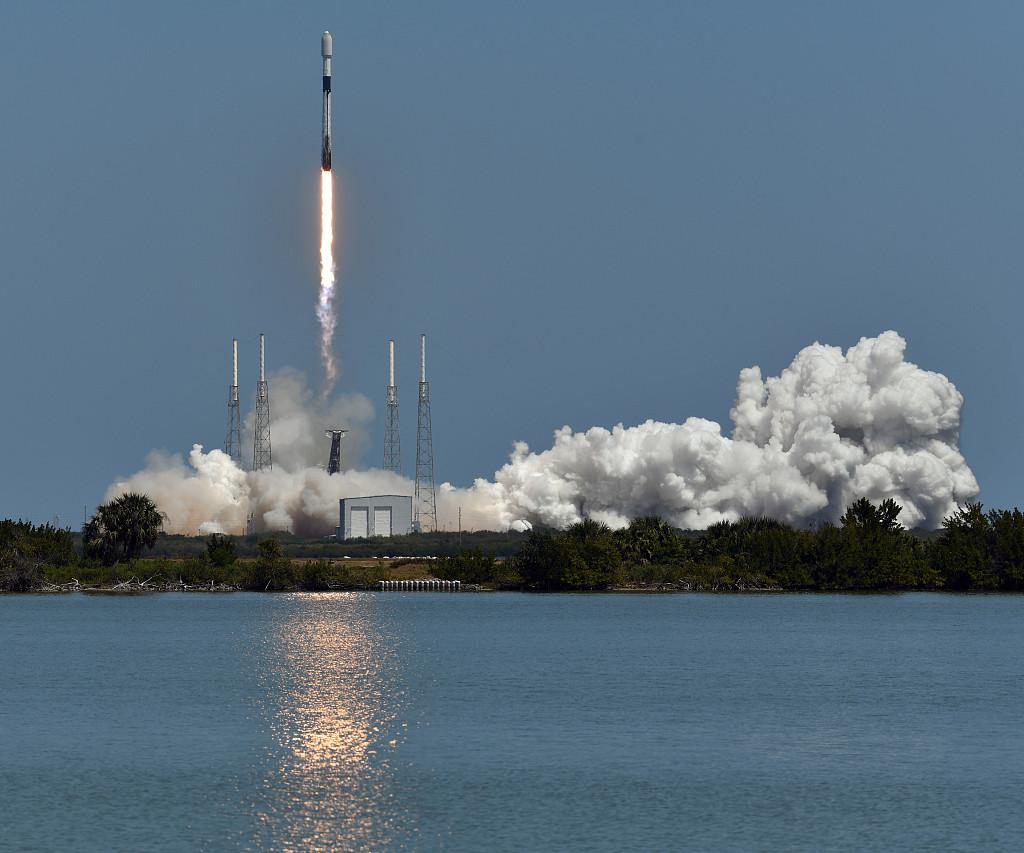 SpaceX将第24批星链卫星送入太空 今年发射10次