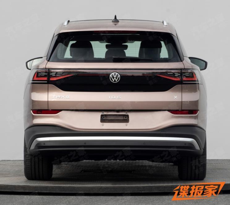 上海车展发布 大众ID.6最新预告图发布
