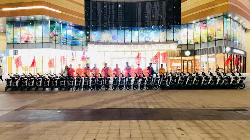六分科技助力滴滴共享单车落地赣州 高精度定位技术打造城市亮丽风景线