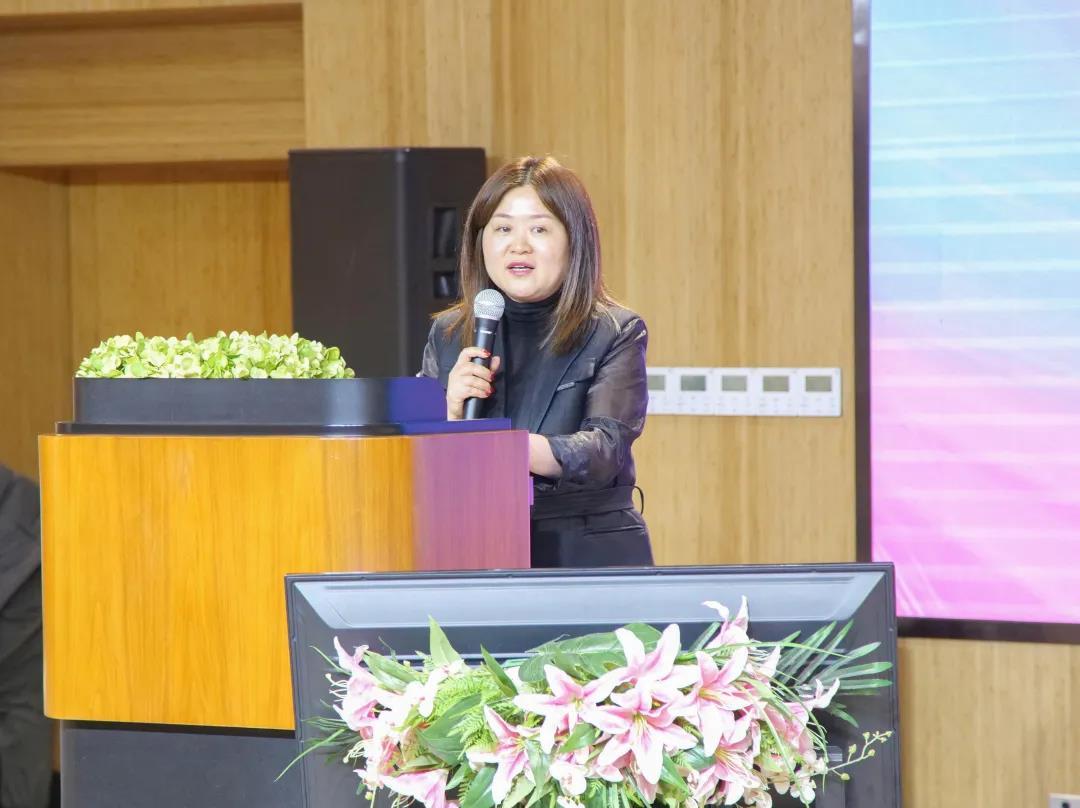 知盛科技&医策科技CEO王晓梅致辞