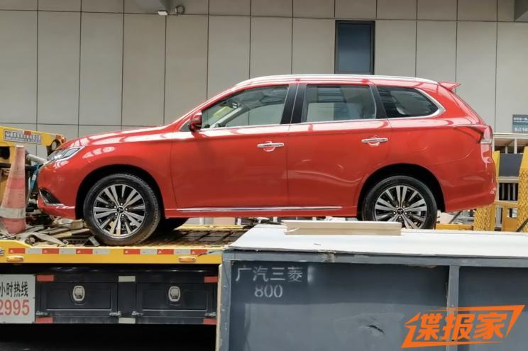 2021上海车展探馆:欧蓝德新车型实车