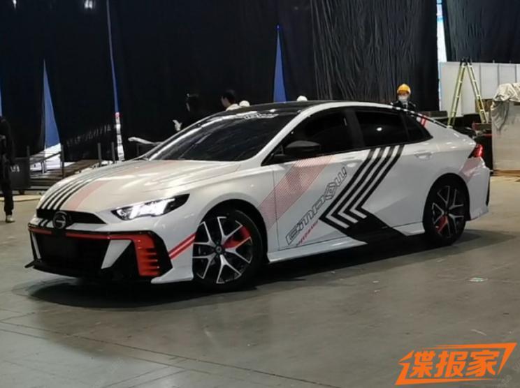 2021上海车展探馆:广汽传祺影豹改装版