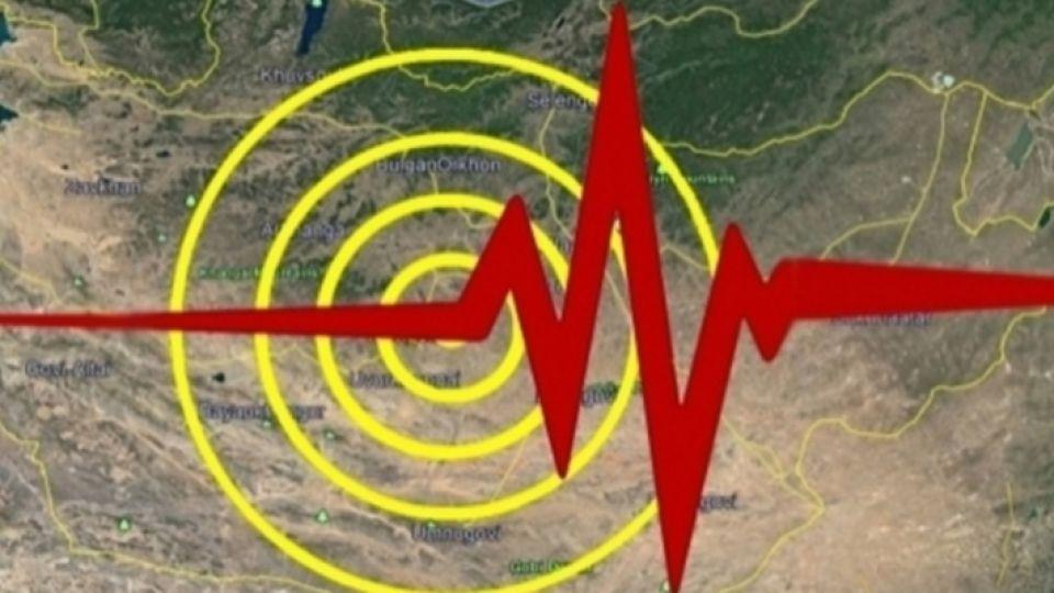蒙古国库苏古尔省发生6.3级地震 首都乌兰巴托有明显震感