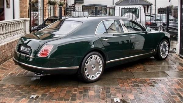 英国女王用的宾利慕尚出售:高达160万元