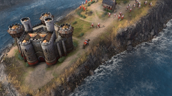 微软RTS大作!《帝国时代4》新图曝光:八大文明、支持1V7