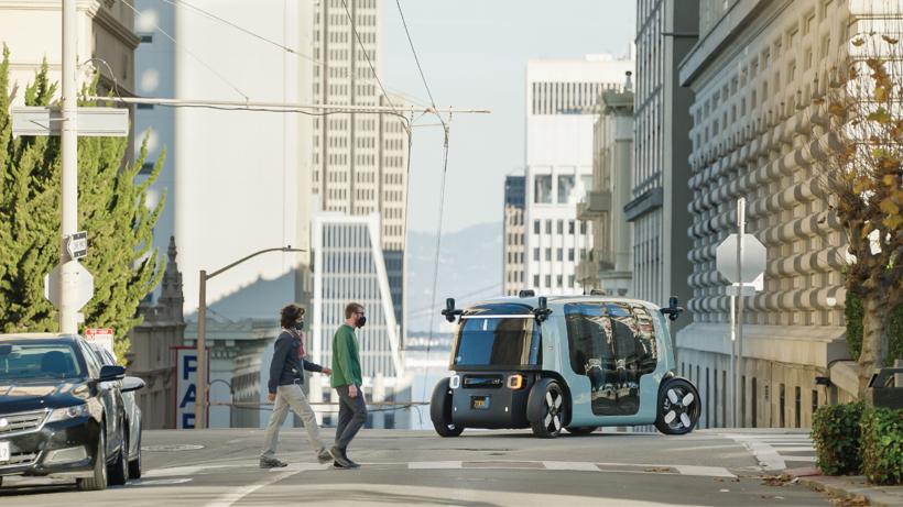 亚马逊旗下Zoox发布公告 揭秘其自动驾驶汽车的防撞设计