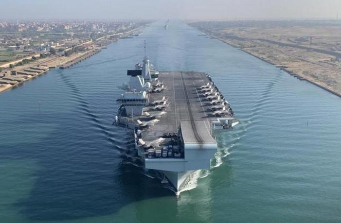 """英国为""""黑海碰壁""""狡辩,扬言要开航母来南海"""