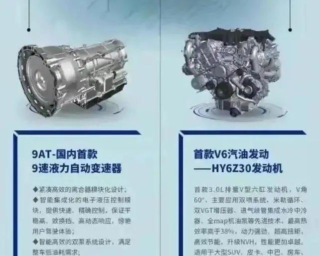 3.0T V6+9AT 国产最强动力总成要来了