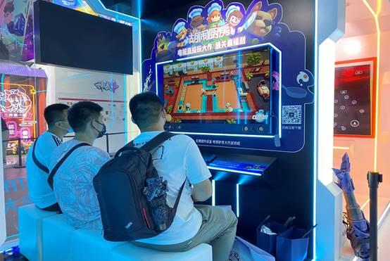 吸睛2021ChinaJoy 虹领金助力腾讯START云游玩批准大屏玩家测评