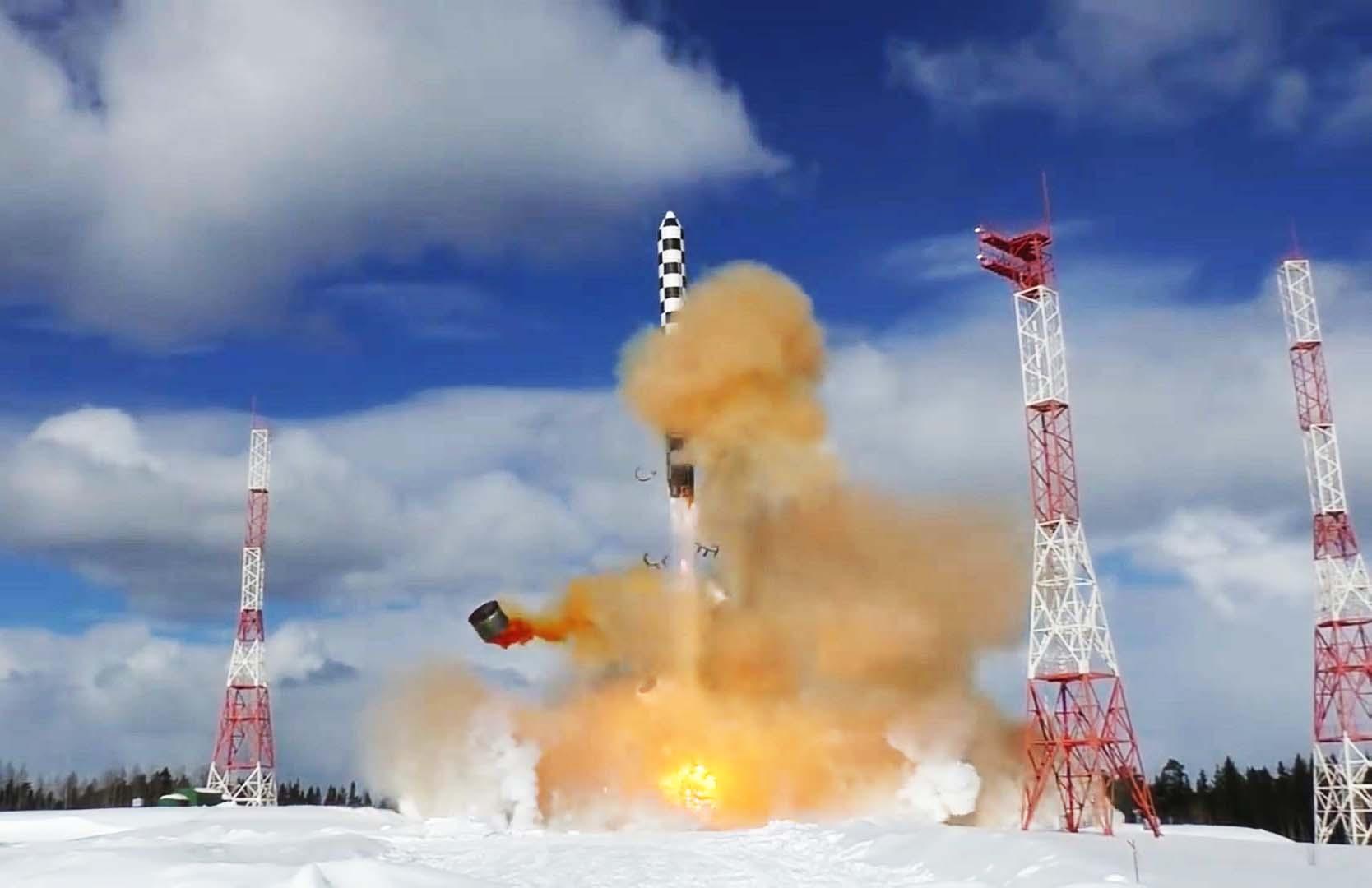 """新一代""""撒旦""""洲际核导弹来了!俄媒:""""萨尔马特""""今年秋季首次试射"""
