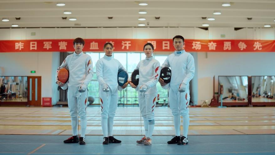 联结中国国家击剑队 视贝品牌再升级