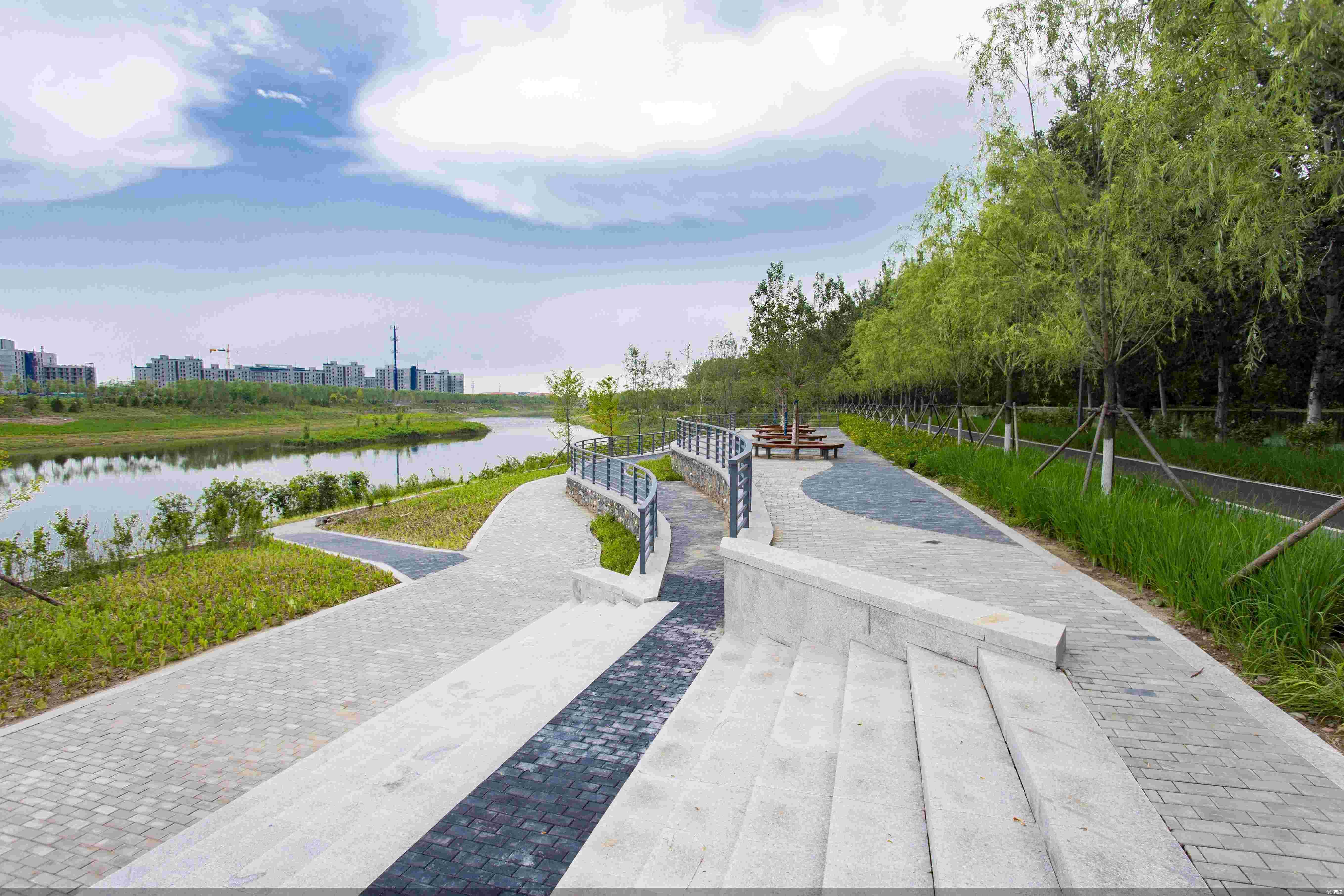 2个主题公园7个体育场10公里健身步道……雁栖河城市生态廊道等你打卡