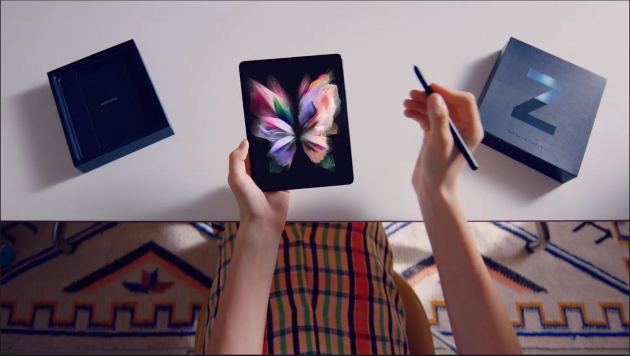 三星Z Fold 3发布 防水设计支持S Pen手写笔售约11650元起