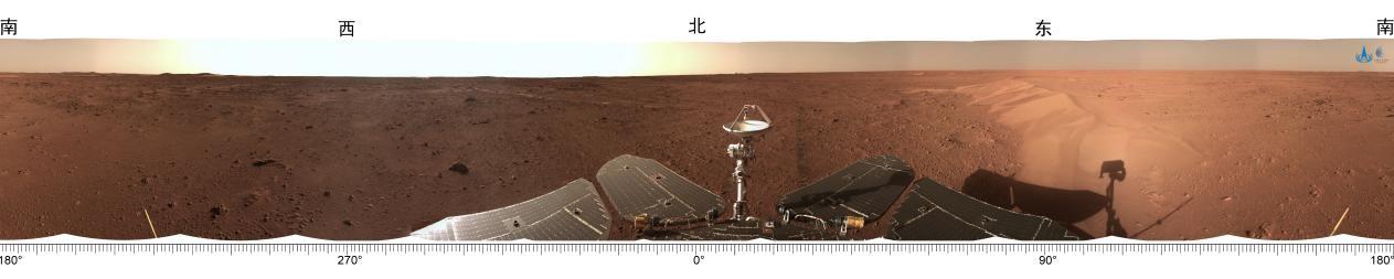 """""""祝融号""""火星行驶已满百天,首次火星探测任务成功纪念币面世"""