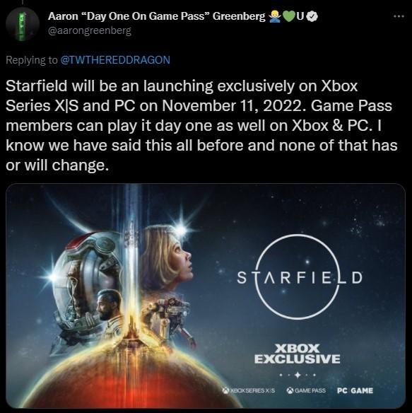 微软重申《星空》是真独占