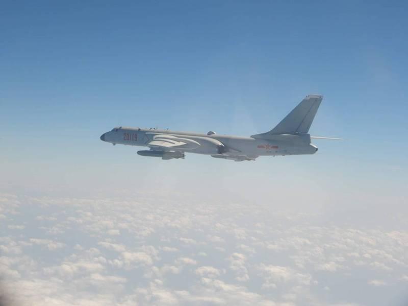 绿媒炒作:4架次解放军军机今日进入台西南空域,系本月第二次