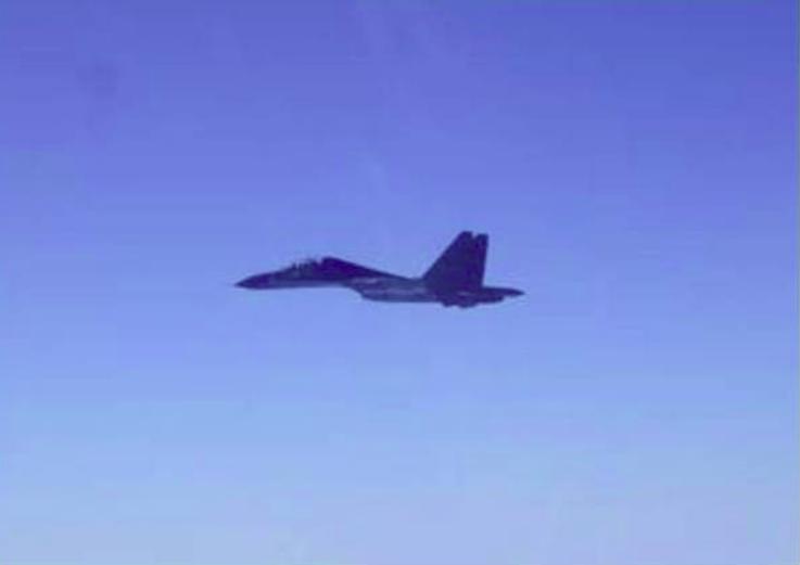 台湾防务部门:解放军19架次军机今日进入台西南空域,14架次为战机