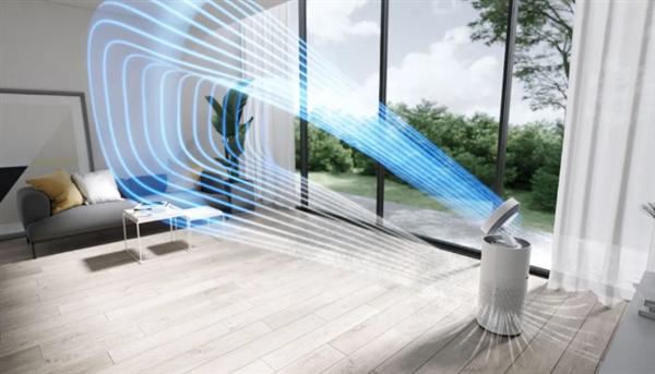 米家循环风空气净化器发布:一机三用 四季都能用