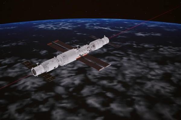 每一张都是壁纸!天舟三号飞船交会对接空间站组合体