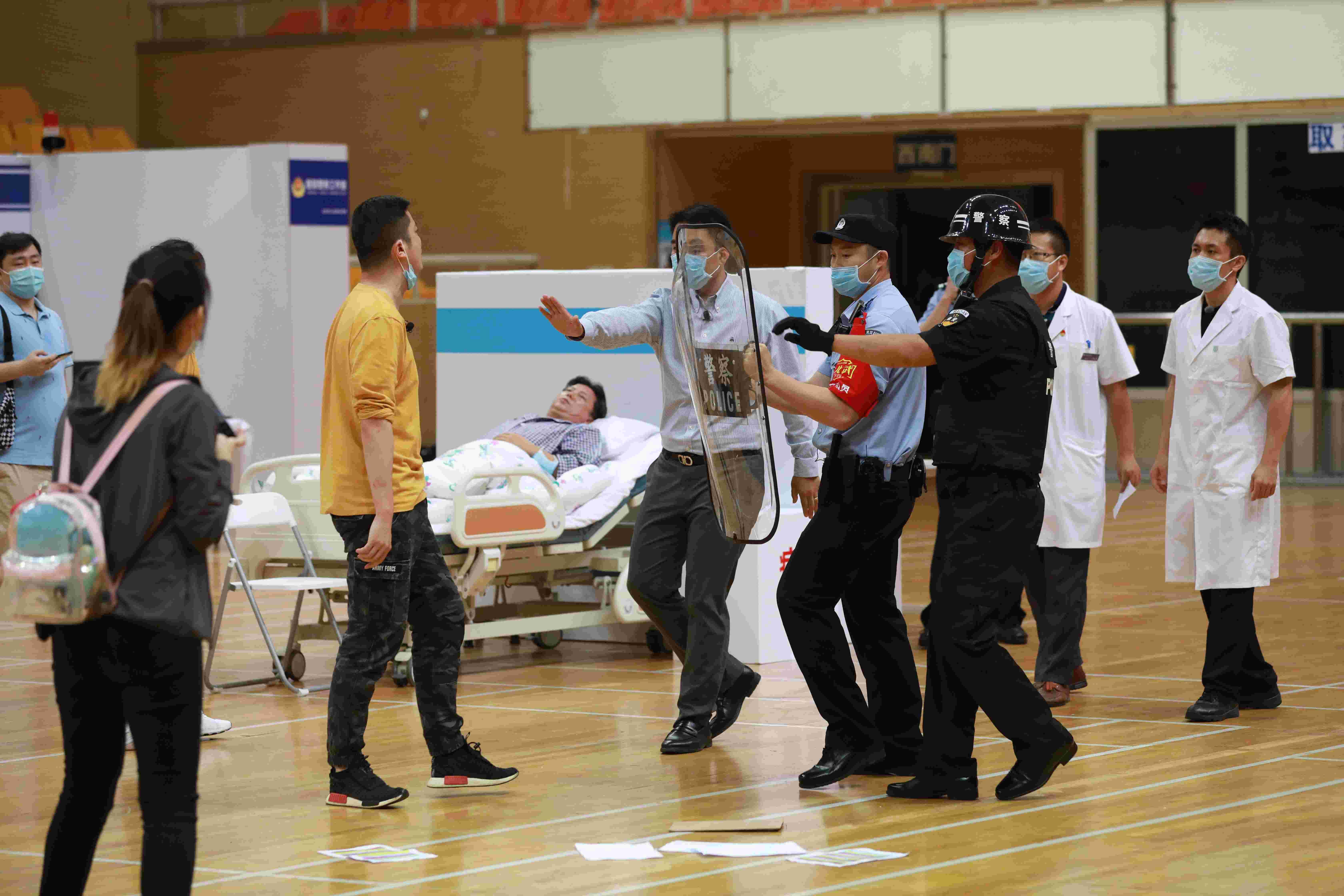 北京629名警力进驻医院警务室,上半年查处涉医违法案件74起