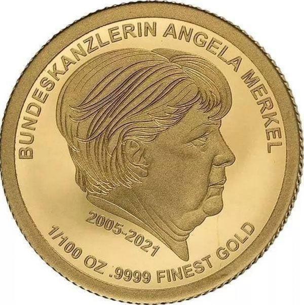 俄媒:德国推出默克尔纪念金币